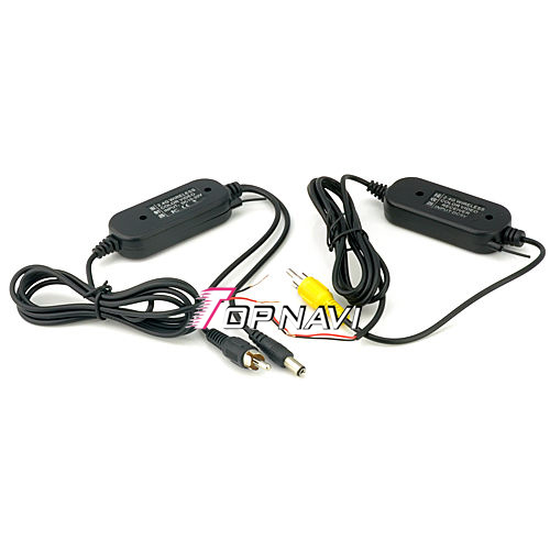 2.4G Wireless RCA Video Transmitter & Receiver for Car Rearview Camera Monitor   TN-RC804