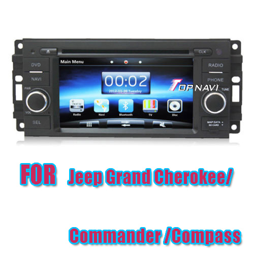 Car DVD Player For Jeep Grand Cherokee/Commander/Compass with GPS  TN7375