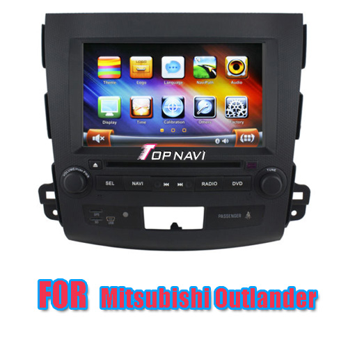 Car DVD GPS For Mitsubishi Outlander With GPS BT TV Radio IPOD  TN-9802